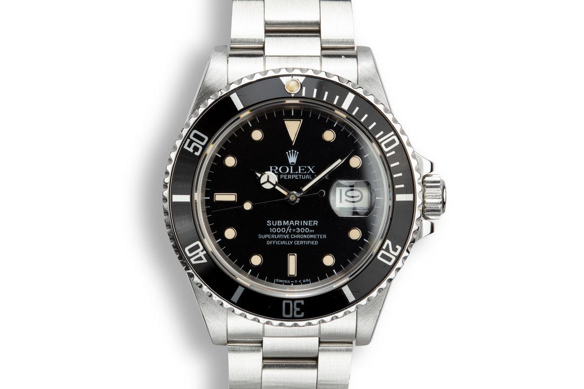 1986 Rolex Submariner 16800 photo, #0