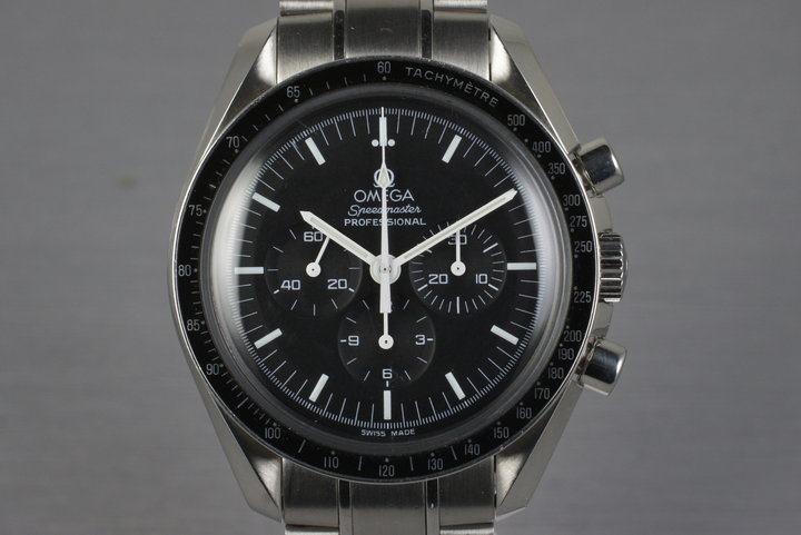 1996 Omega Speedmaster Professional 357.05000 with Box and Papers photo