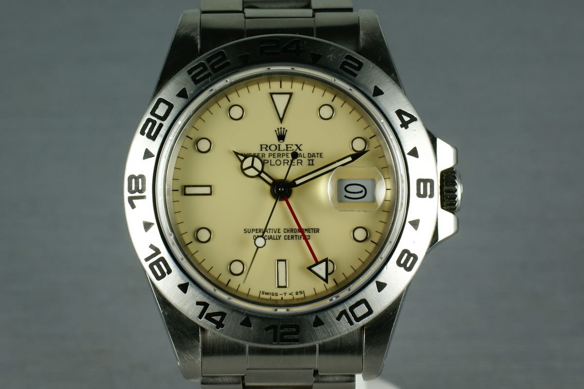 Rolex Explorer II  16550  Cream Dial with Papers photo, #0