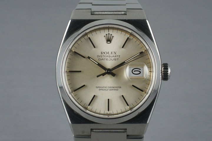 1982 Rolex OysterQuartz Datejust 17000 photo