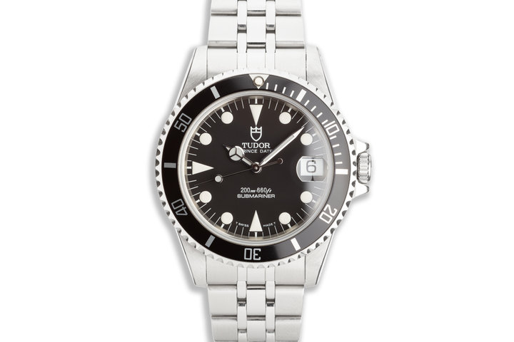 1999 Tudor Prince Date 75190 Submariner Box & Papers photo