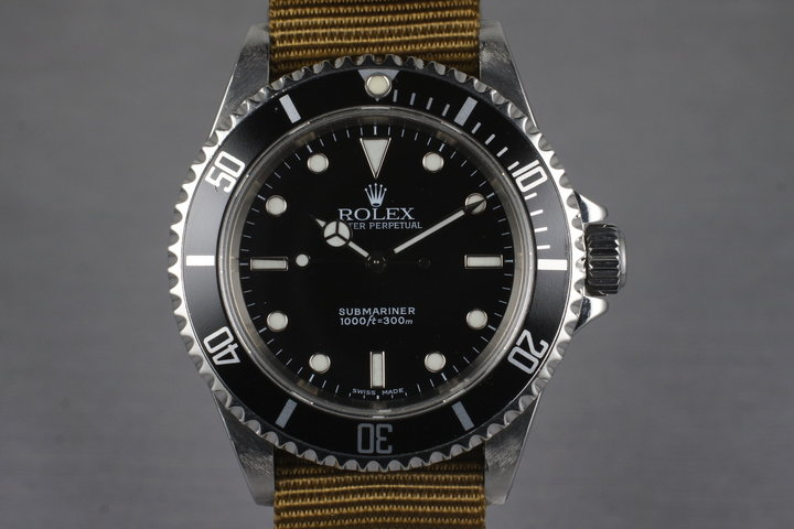 2006 Rolex Submariner 14060M photo