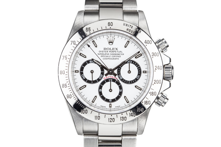 1999 Rolex Zenith Daytona 16520 White Dial photo