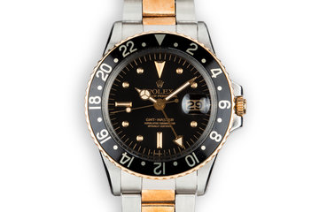 1973 Rolex Two-Tone GMT-Master 1675 with Black Nipple Dial photo