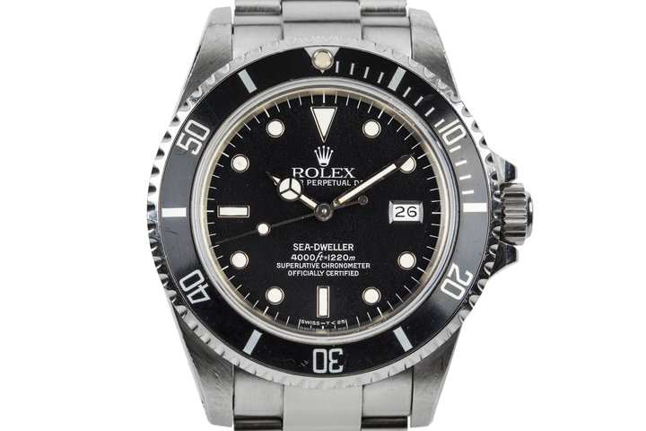 """1983 Rolex Sea-Dweller 16660 with """"Star Dust"""" Dial photo"""