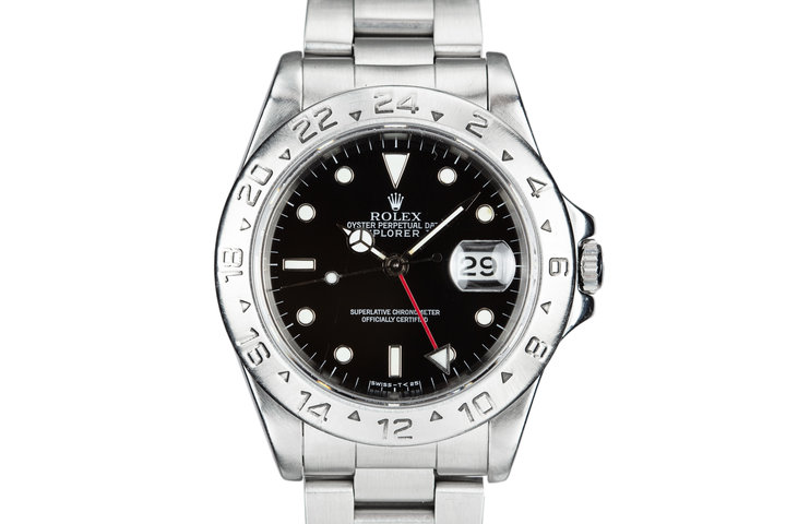 1995 Rolex Explorer II 16570 Black Dial photo