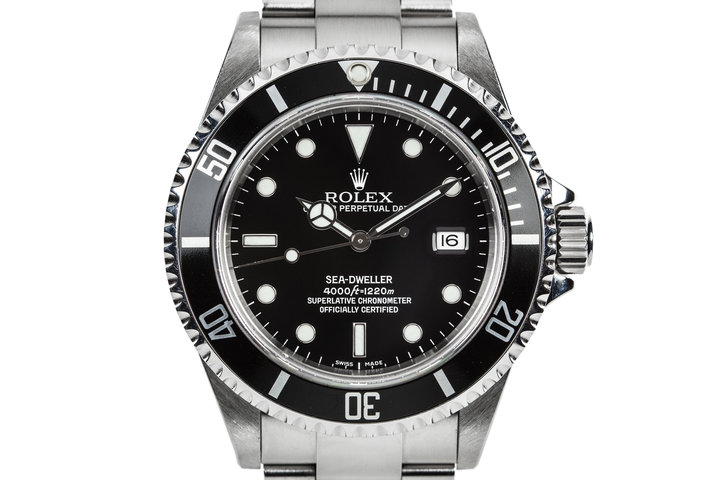 2007 Rolex Sea-Dweller 16600 with Box, Papers, and Kit photo