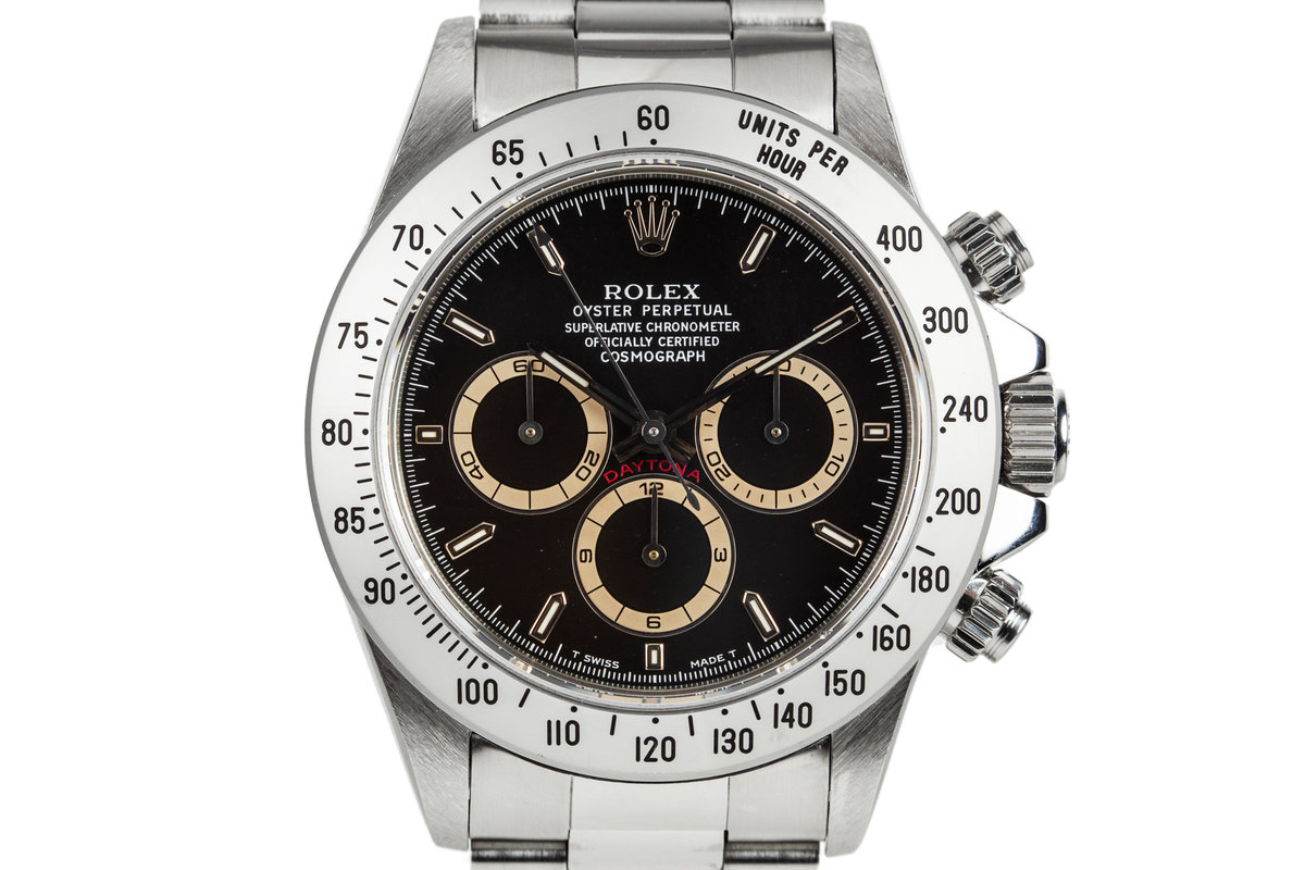 1995 Rolex Daytona 16520 with Box and Papers photo, #0