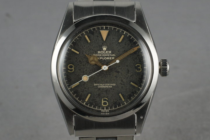 1958 Rolex Explorer 1 6610 with Gilt Dial photo