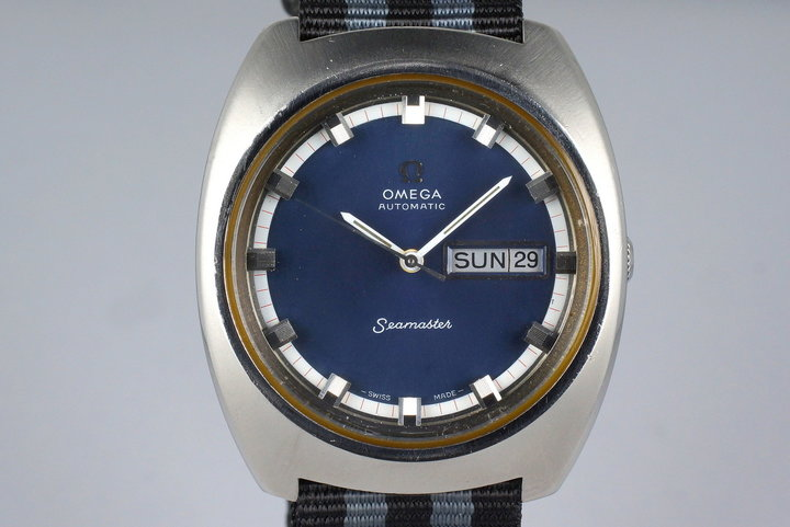 Early 1970's Omega Seamaster Day-Date 166.111 Calibre: 752 photo