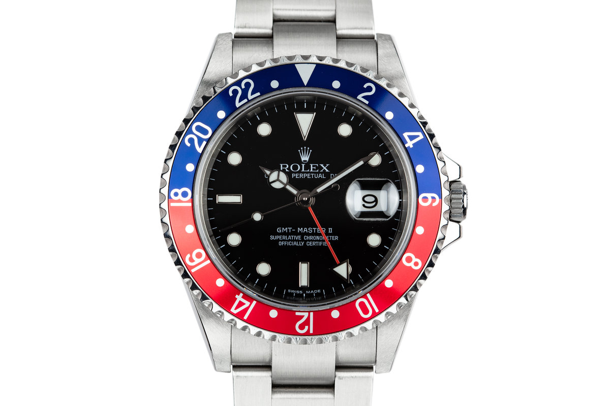 2006 Rolex GMT-Master II 16710 with Box and Papers photo, #0