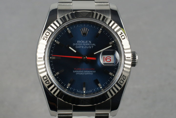 2005 Rolex DateJust 116234 Turn-O-Graph with Box and Papers photo