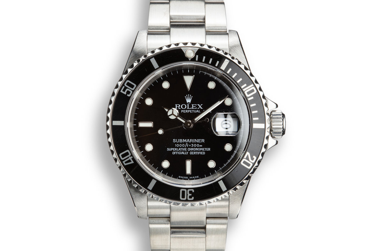 2003 Rolex Submariner 16610T photo, #0