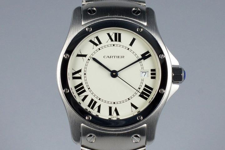 Cartier Santos Ronde 1561 1 photo
