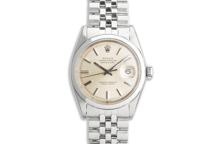 1967 Vintage Rolex DateJust 1600 Silver Dial photo