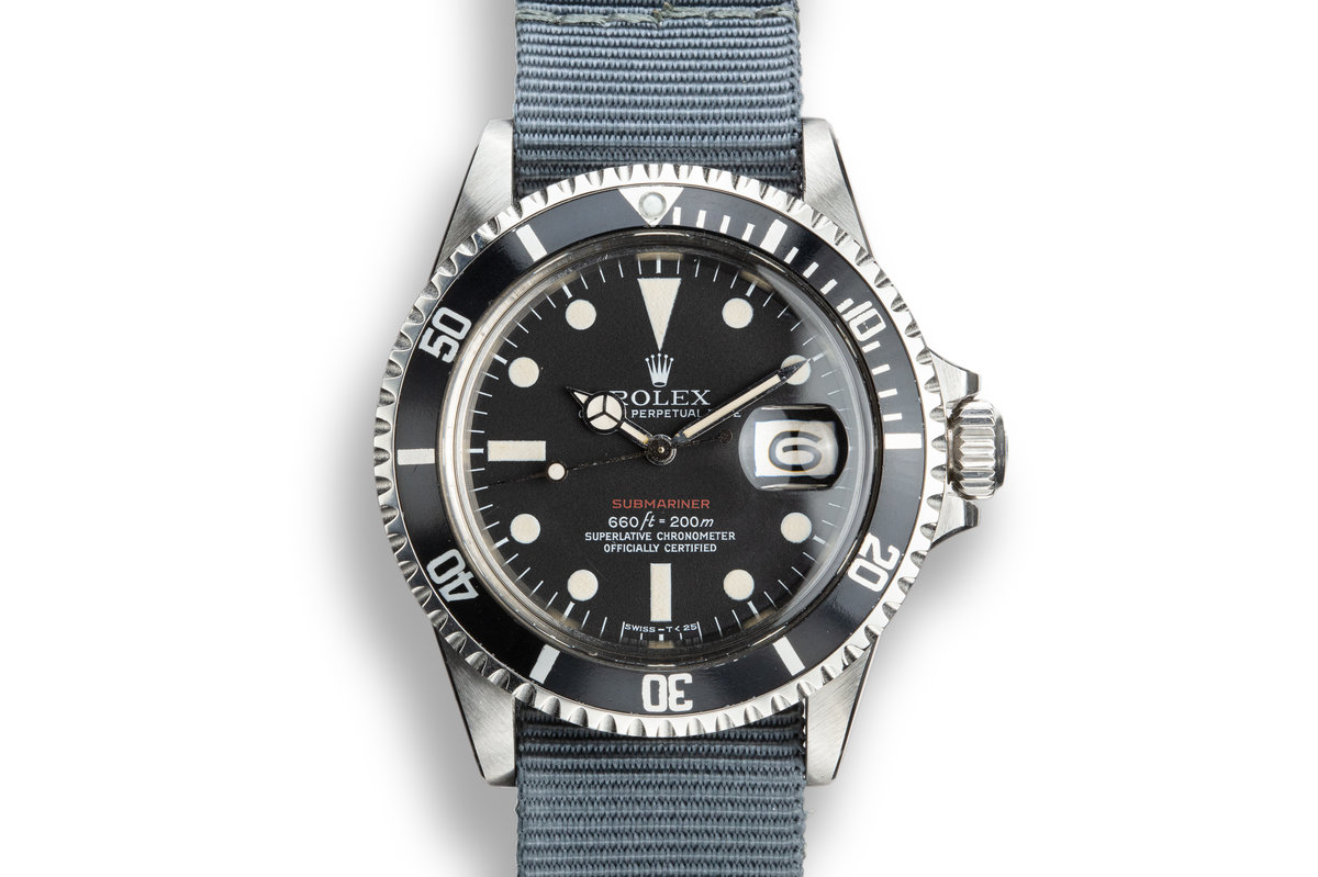 1971 Rolex Red Submariner 1680 Mk V Dial photo, #0