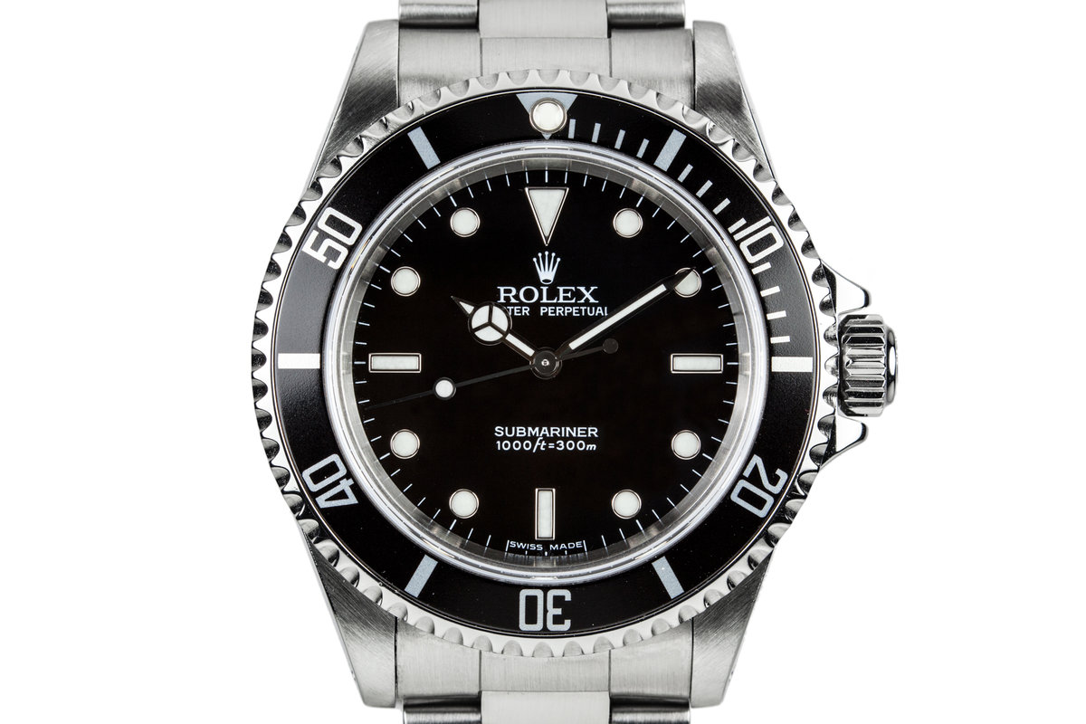 2006 Rolex Submariner 14060 with Box and Papers and Service Papers photo, #0