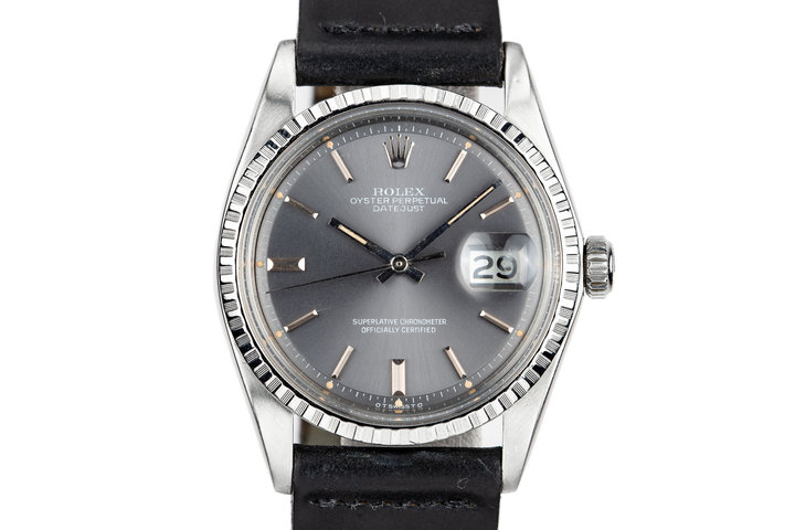 1972 Rolex Datejust 1603 with Grey Sigma Dial with Box and Papers photo