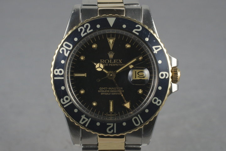 1980 Rolex Two Tone GMT-Master 16753 photo