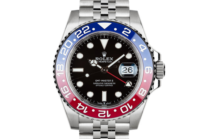 2018 Mint Rolex Ceramic GMT-Master II 126710BLRO With Box and Papers photo