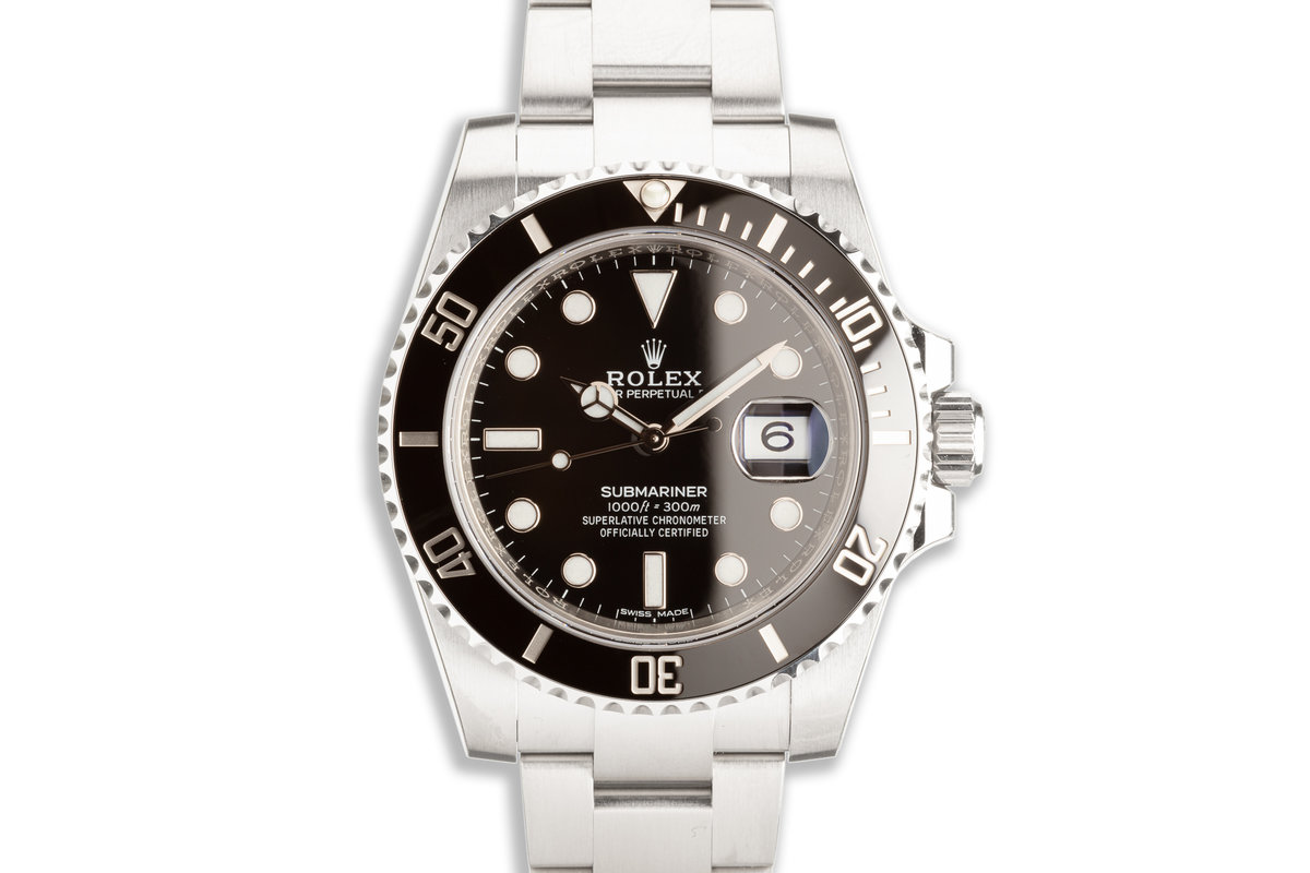2020 Rolex Submariner 116610LN with Box & Card photo, #0