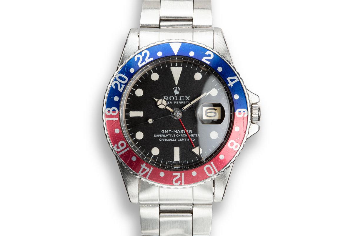 1968 Rolex GMT-Master 1675 photo, #0
