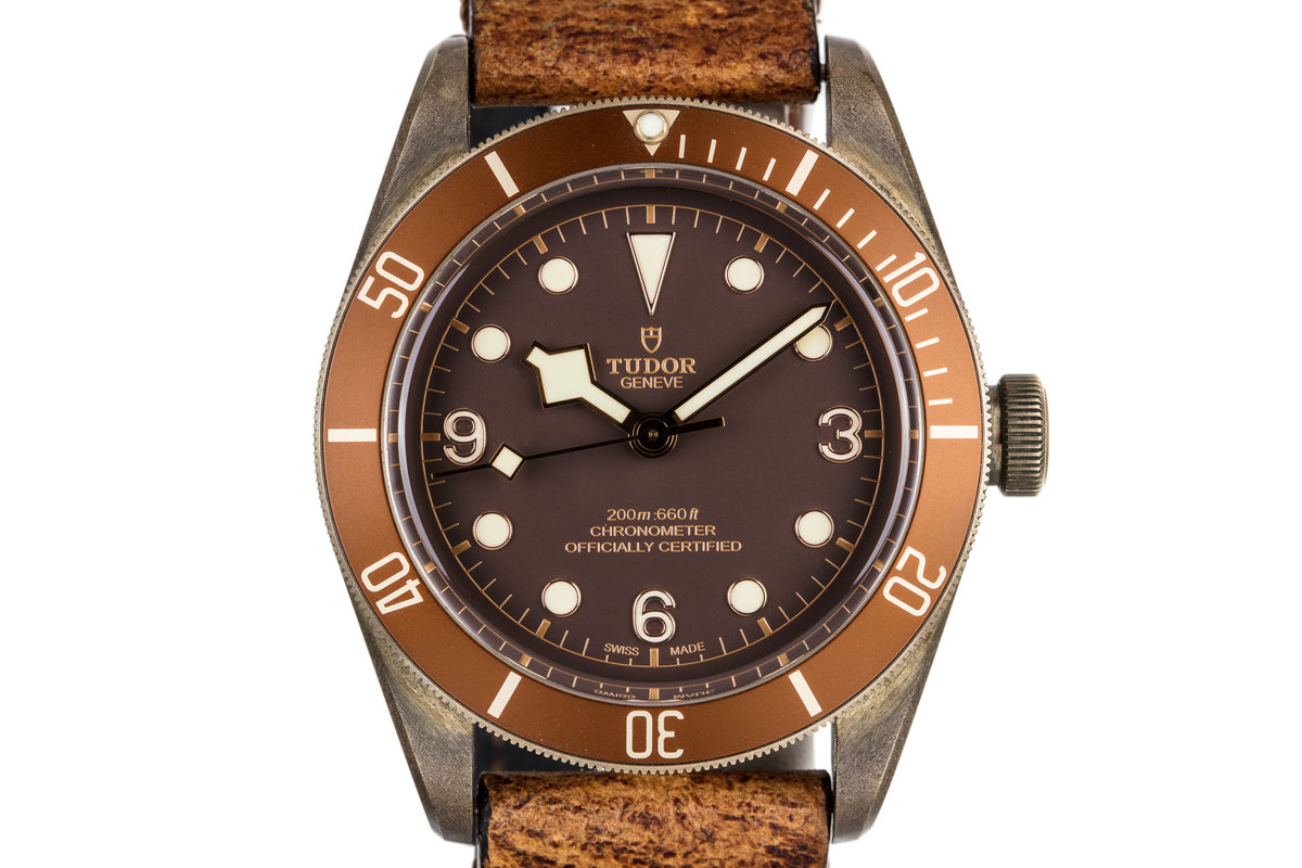 2016 Tudor Bronze Black Bay 79250BM with Box and Papers photo, #0