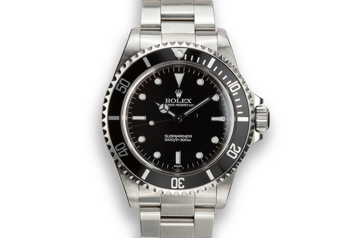 "1997 Rolex Submariner 14060 ""SWISS"" Only Dial photo, #0"