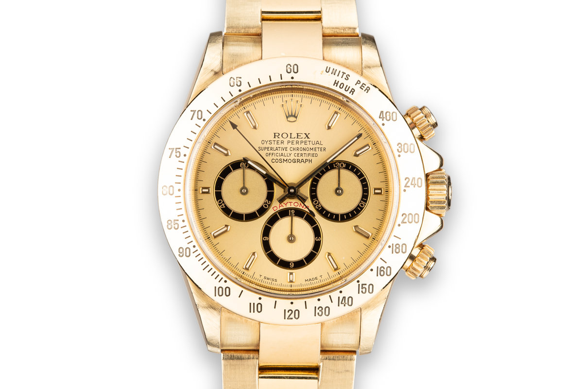 1991 Rolex 18K YG Daytona 16528 photo, #0