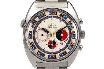1969 Omega Seamaster 145.019 Calibre 861 White Soccer Dial photo
