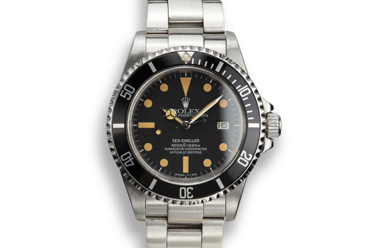 1983 Rolex Sea-Dweller 16660 Matte Dial photo, #0