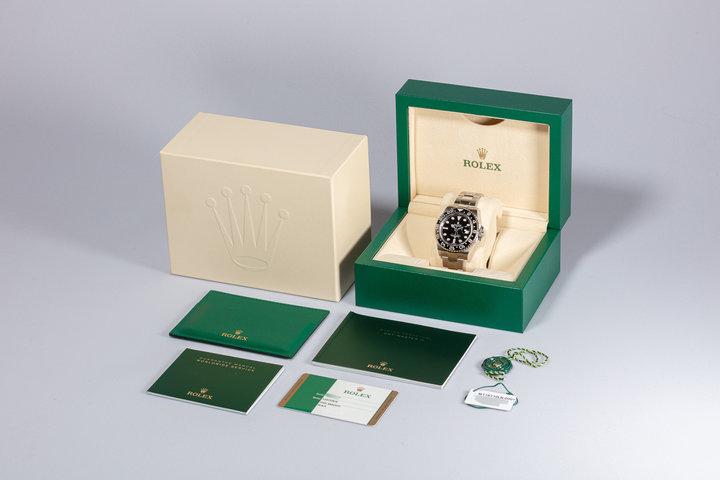 2017 Rolex GMT-Master II 116710LN Black Bezel with Box & Card photo