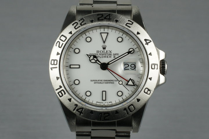 1985 Rolex Explorer II 16550 photo