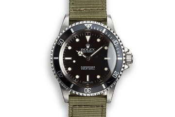 "1988 Rolex Submariner 5513 Glossy Dial ""R Serial"" photo"