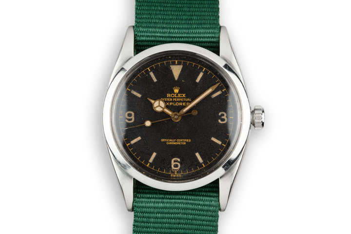 1956 Rolex Explorer 6610 Gilt Dial photo
