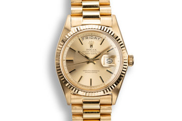 1967 Rolex 18K YG Day-Date 1803 photo