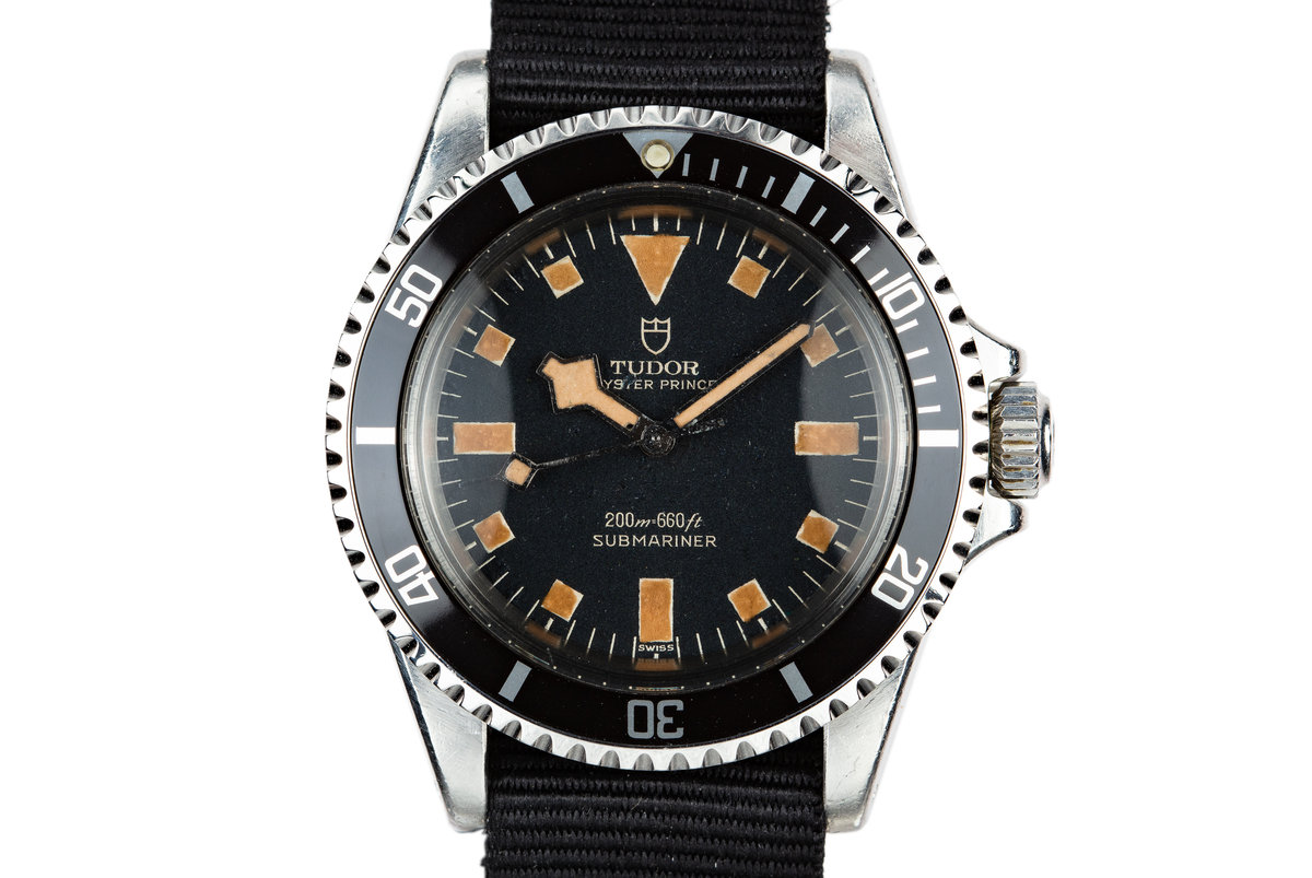1968 Tudor Submariner Snowflake 7016/0 photo, #0