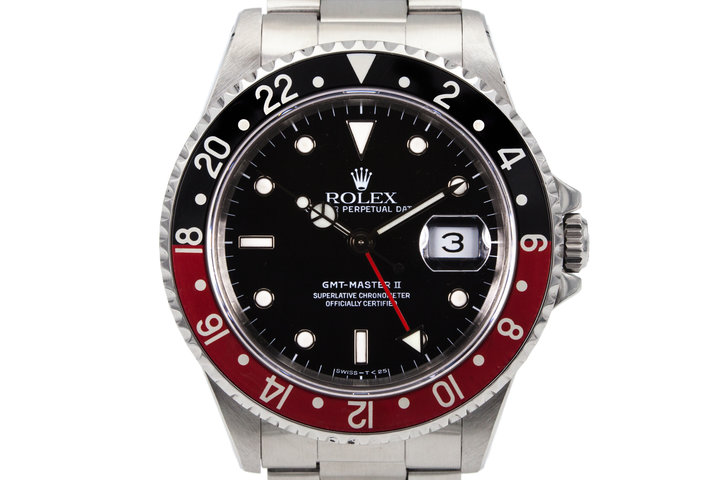 1991 Rolex GMT II 16710 with Box and Papers  photo