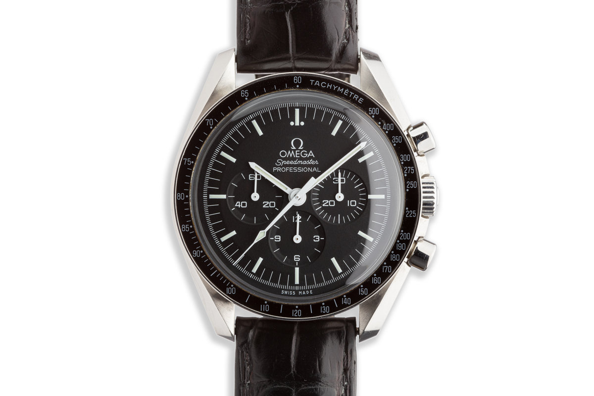 Omega Speedmaster Professional 31130423001005 with Box and Card photo, #0