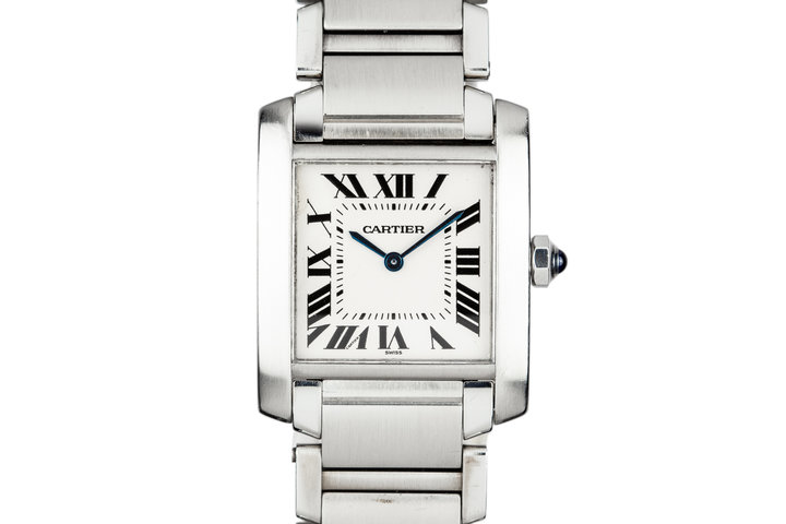 Cartier Midsize Tank 2301 White Dial photo