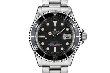 1971 Rolex Red Submariner 1680 with Mk V Dial photo