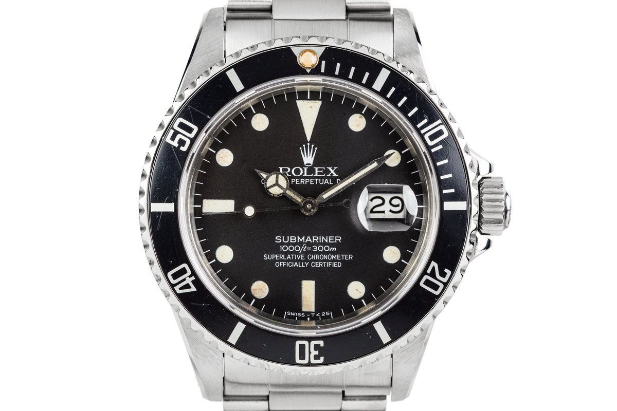 1982 Rolex Submariner 16800 with Matte Dial photo, #0