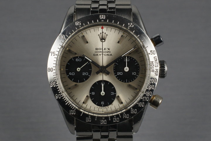 1969 Rolex Daytona 6239 with Silver Dial photo