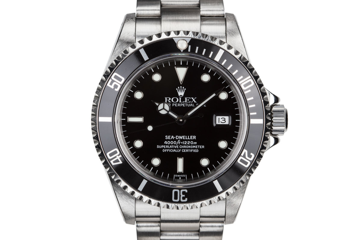 1999 Rolex Sea-Dweller 16600 with SWISS Only Dial photo, #0