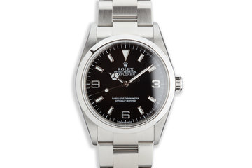 2002 Rolex Explorer 114270 with Papers photo