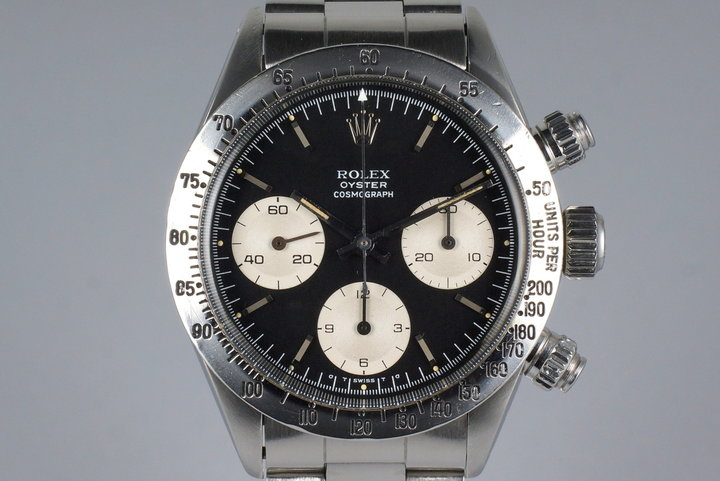 1972 Rolex Daytona 6265 Black Sigma Dial with RSC Papers photo