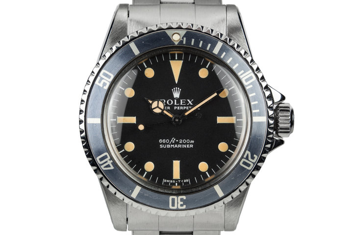 1974 Rolex Submariner 5513 Serif Dial with Box and Papers photo