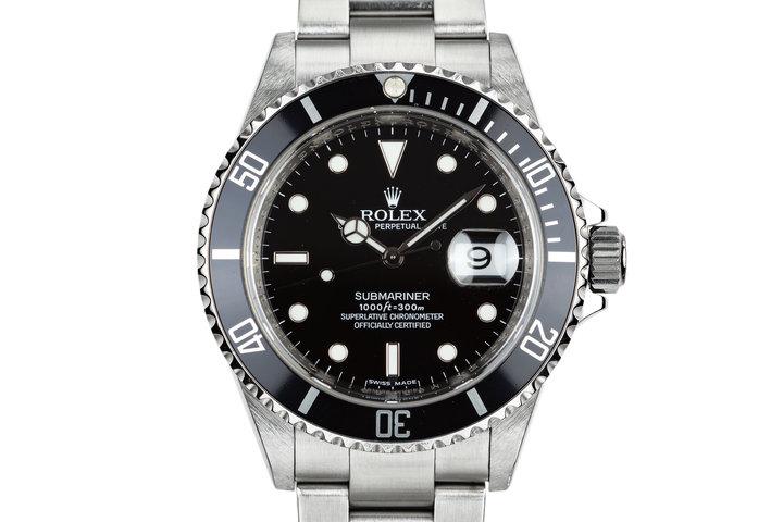 2007 Rolex Submariner 16610 photo