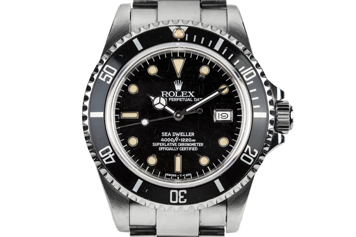 "1983 Rolex Sea-Dweller 16660 with ""Spider"" Dial photo"