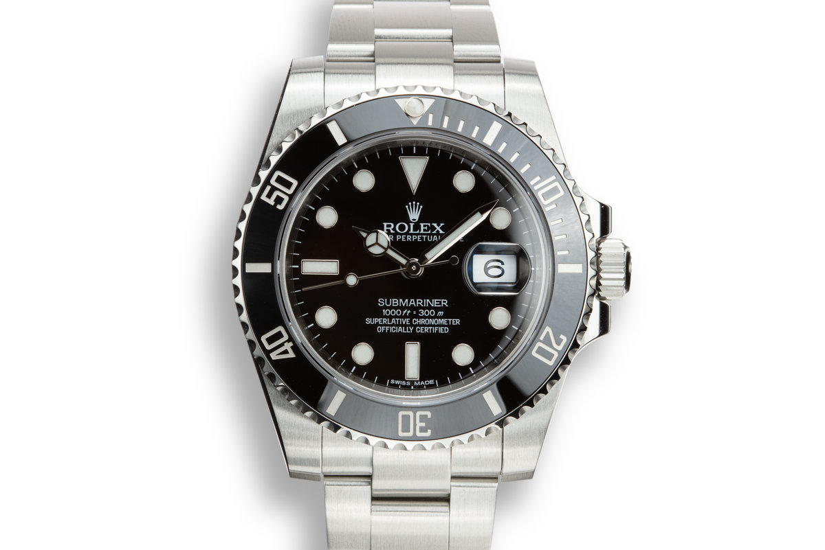 2014 Rolex Submariner 116610LN with Box and Papers photo, #0